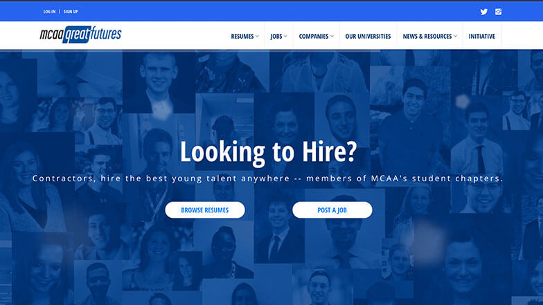 Find Talent for Your Company's Future Growth with the MCAA GreatFutures Jobs Board
