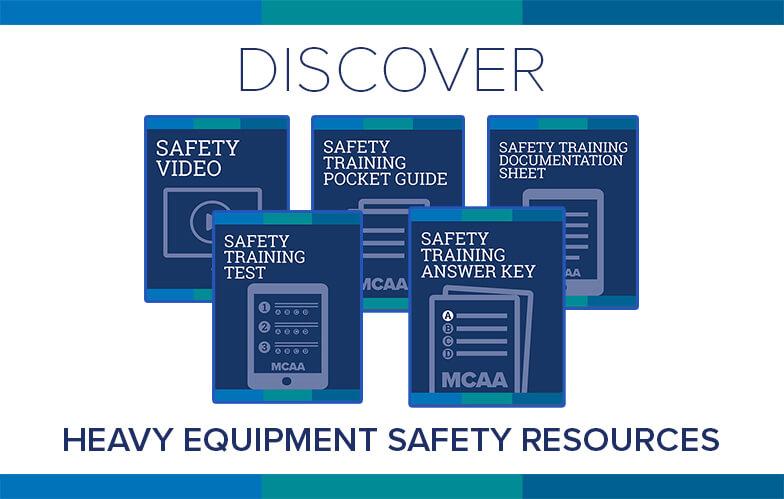 Resource Highlight: MCAA's Heavy Equipment Safety Training Video & Materials