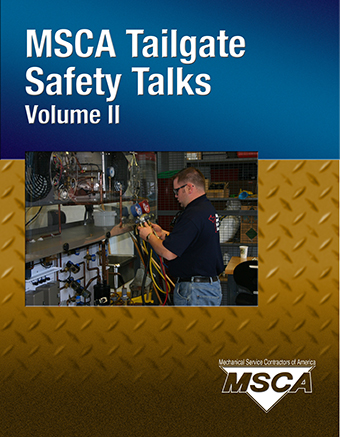 Tailgate Safety Talks for Service Contractors – Volume II