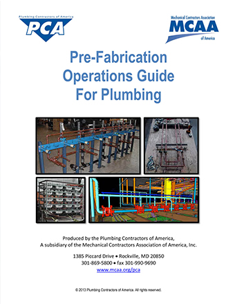 Pre-Fabrication Operations Guide for Plumbing