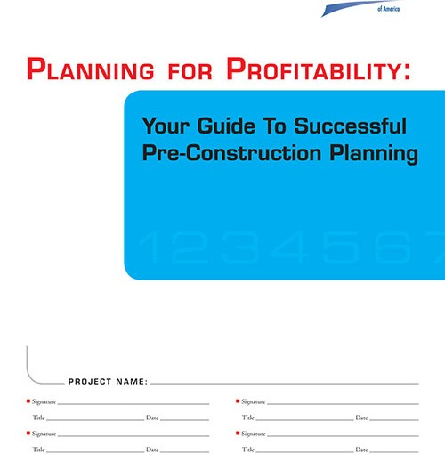 Planning for Profitability: Your Guide to Successful Preconstruction Planning