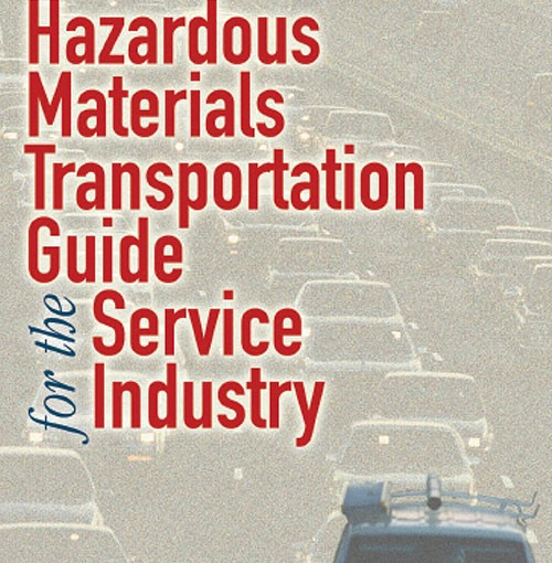 Hazardous Materials Transportation Guide for Service