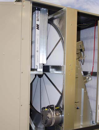 Egan Company found the Daikin Rebel rooftop unit improved student comfort and delivered substantial energy savings thanks to an energy recovery wheel that draws 60 percent more humidity from the air stream.