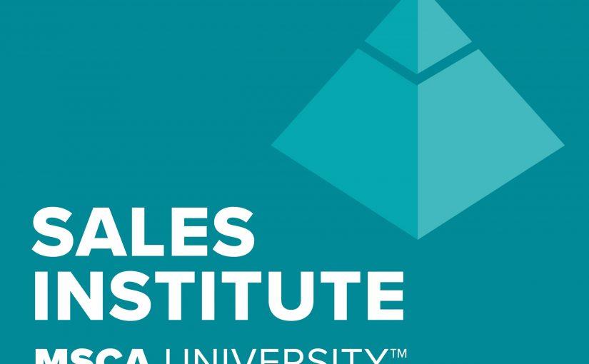 2019 MSCA Sales Leadership Symposium – New class announced!