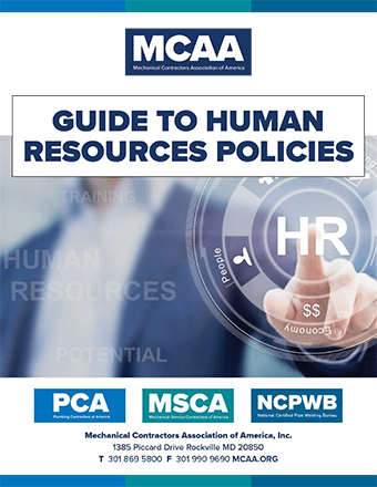 MCAA Releases Updated HR Manual