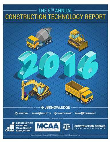 5th Annual JBKnowledge Construction Technology Report