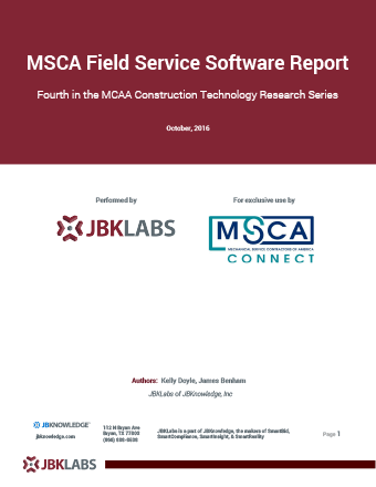 Technology Report on Field Service Software