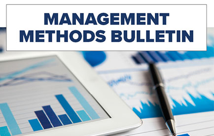 Retainage and PDF Editing are Featured in New Management Methods Bulletins
