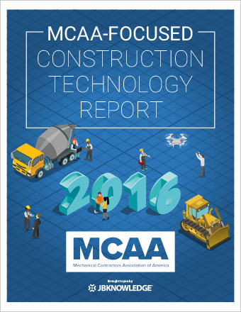 2016 MCAA-Focused Construction Technology Report
