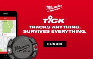 MILWAUKEE TOOL TICK™ Tool and Equipment Tracker