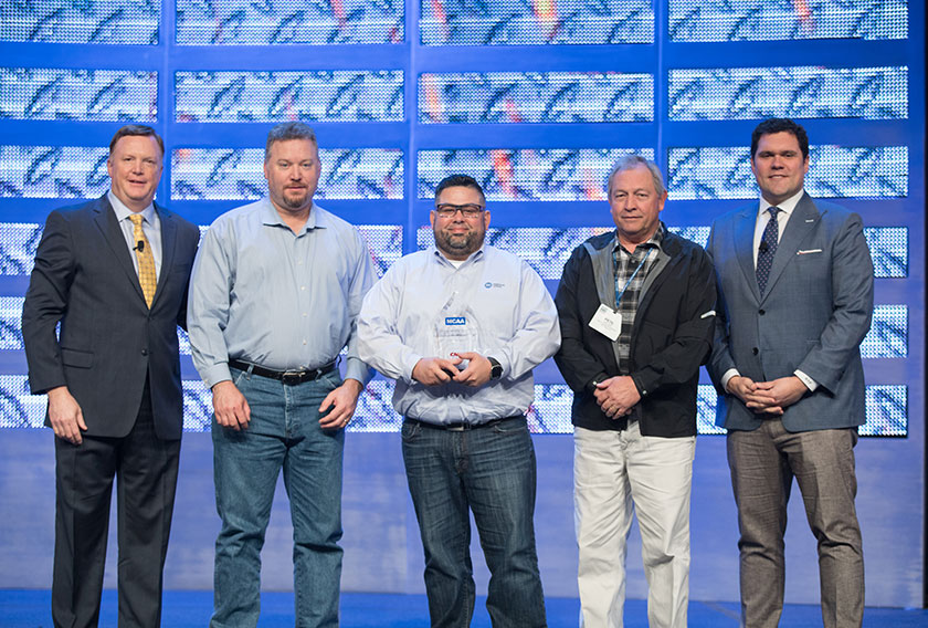 ACCO Engineered Systems, Inc. of Commerce, California, received an MCAA/CNA Safety Award in the over 1,000,000 work hours category.