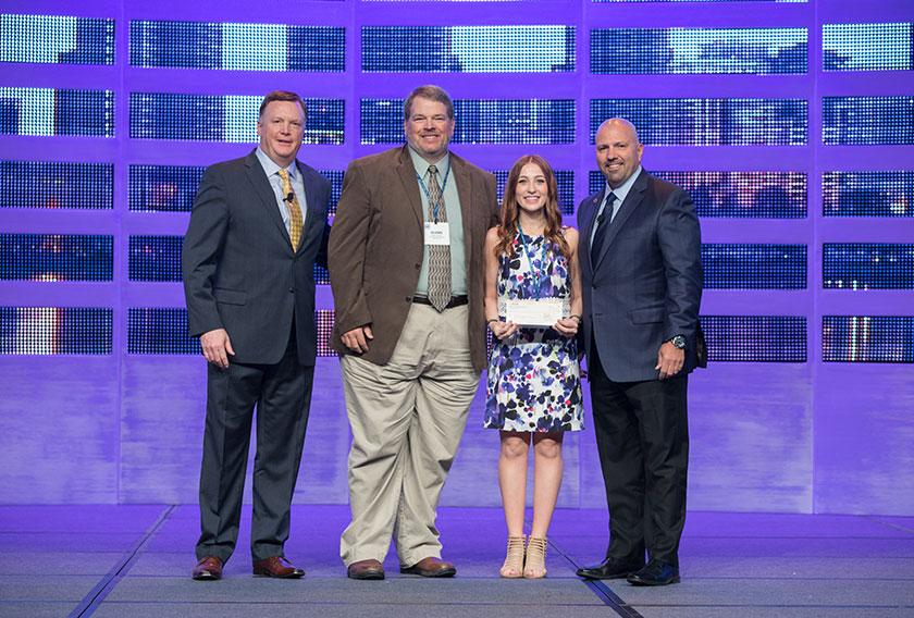 Sarah Drummey, a junior at the University of Nebraska – Lincoln, took home the Foster J. McCarl, Jr. Memorial Scholarship.
