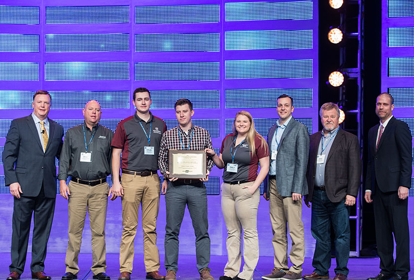 The Missouri State University Chapter of the Mechanical Contractors Association of America received its charter