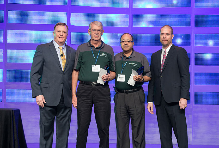 This year's Educator of the Year award was split between two superb educators—Dr. Mostafa Khattab and Dennis Pettitt of Colorado State University.