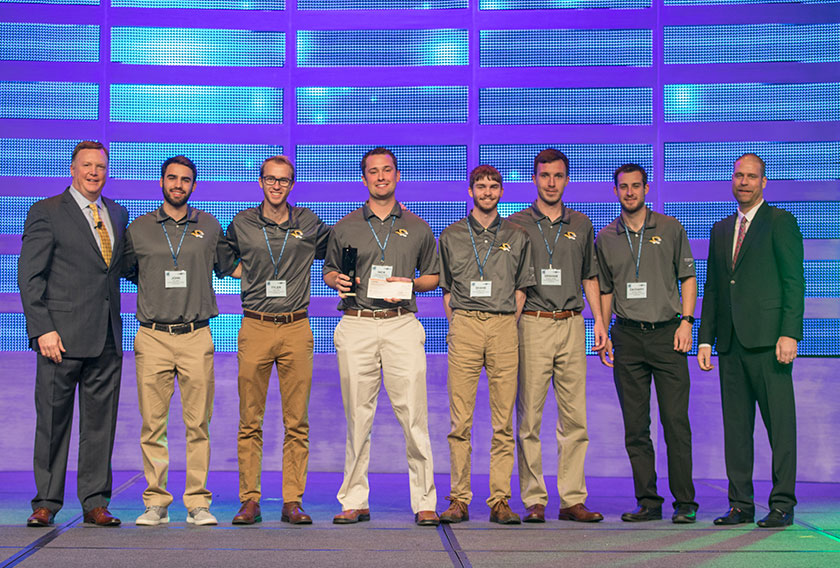 The Career Development Committee chose the University of Missouri–Columbia Student Chapter of the Mechanical Contractors Association of America as its Student Chapter of the Year.