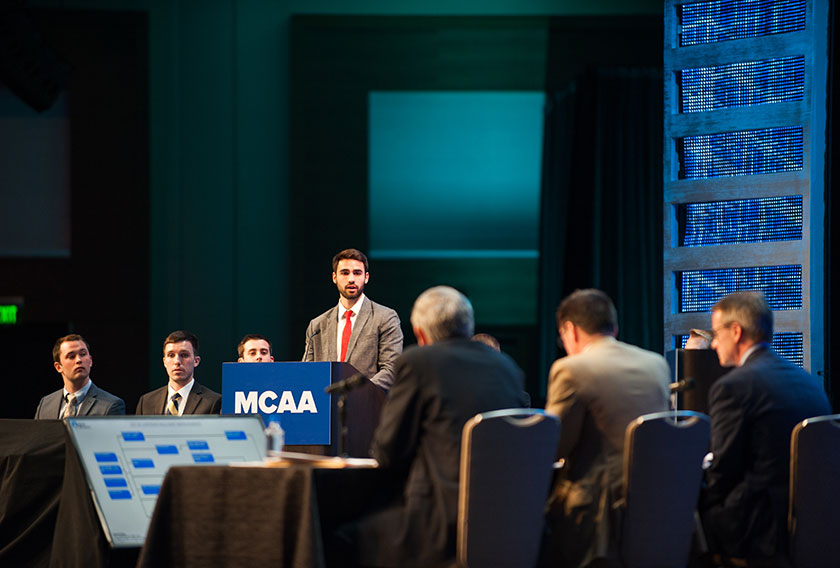 MCAA 2017 Student Chapter Competition