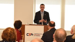 Rep. Brian Fitzpatrick at the MCAA/CEA Conference