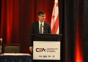 Jamie Wickett at the MCAA/CEA Conference