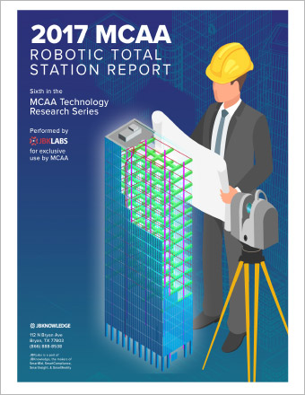 MCAA Robotic Total Station Report