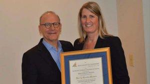 John Gentille and Kori Gormley-Huppert at the ALI Course 17 Graduation