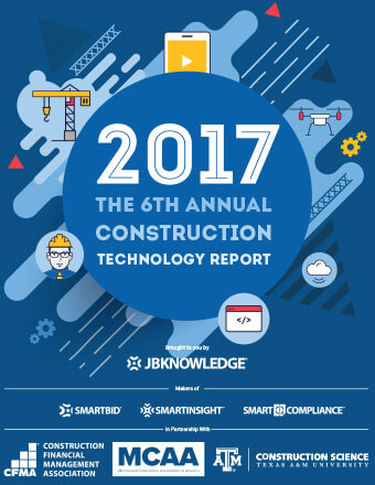 6th Annual JBKnowledge Construction Technology Report