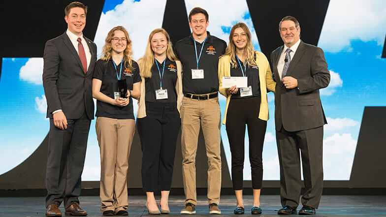 Iowa State Wins Student Chapter of the Year at MCAA18