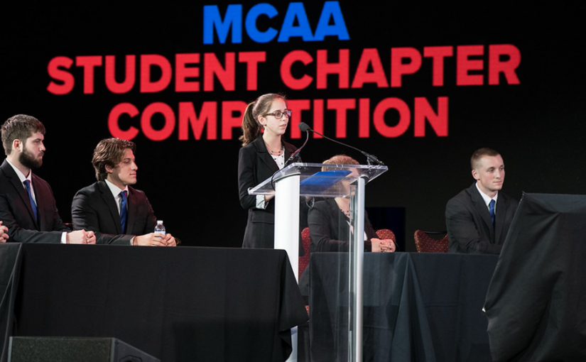 Watch the MCAA18 Student Chapter Competition