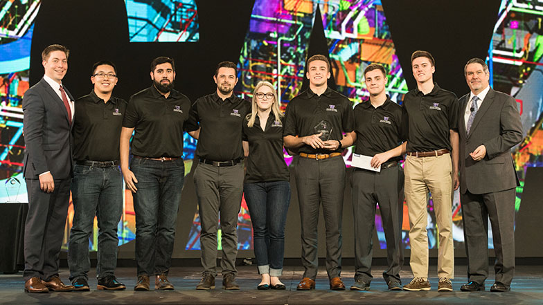 University of Washington is Student Chapter Competition Runner-Up MCAA18