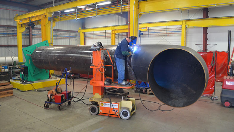 Murray Company Welder on Lift