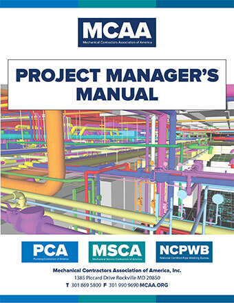 project manager s manual mcaa rh mcaa org Mechanical Contractor Logos University Mechanical Contractors