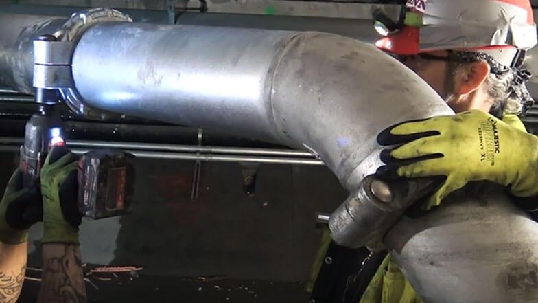 Shinn Mechanical Swivel Joint