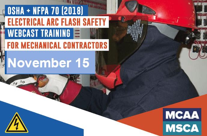 The Next Qualified Level Arc Flash Safety Training Webinars are November 15, 2018