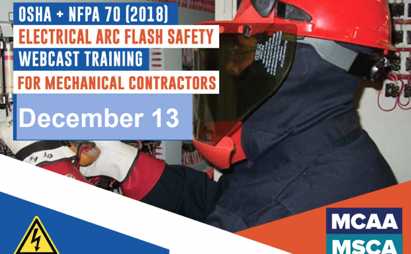 The Next Qualified Level Arc Flash Safety Training Webinars are December 13, 2018