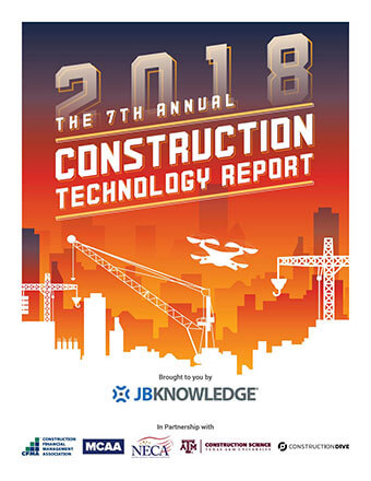 Construction Technology Report Shows Emerging Trends on R&D and Product Usage