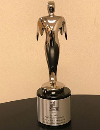MCAA Earns Prestigious Telly Award for Workplace Violence Prevention & Protection Video