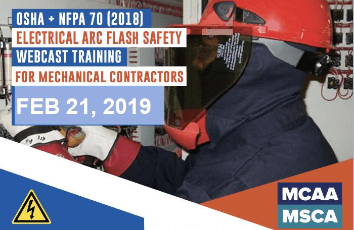 The Next Qualified Level Arc Flash Safety Training Webinars are February 21, 2019