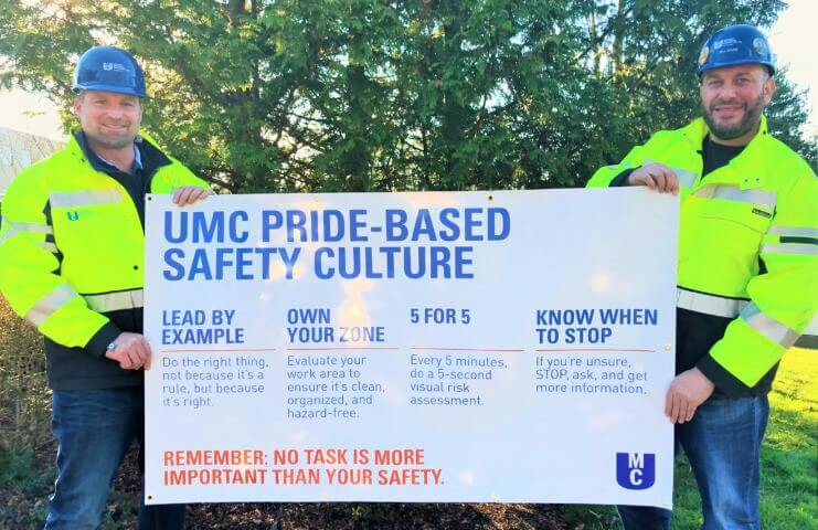 MCAA Congratulates UMC for Accomplishing More Than 1- Million Work Hours Without Incident
