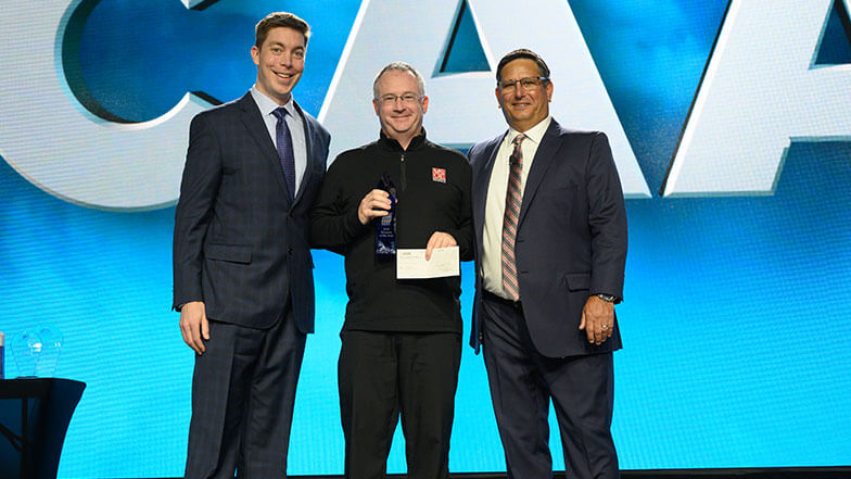 Blake Wentz Named Educator of the Year at MCAA19