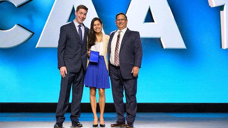 Carmen Bracho Named Student Chapter Competition MVP