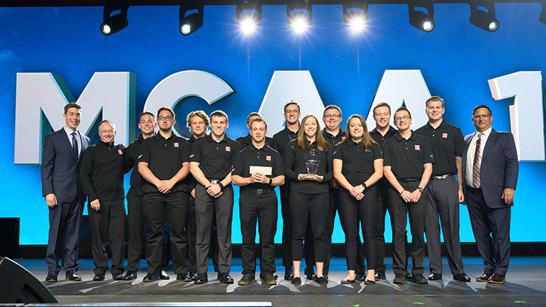Milwaukee School of Engineering Wins Student Chapter Competition