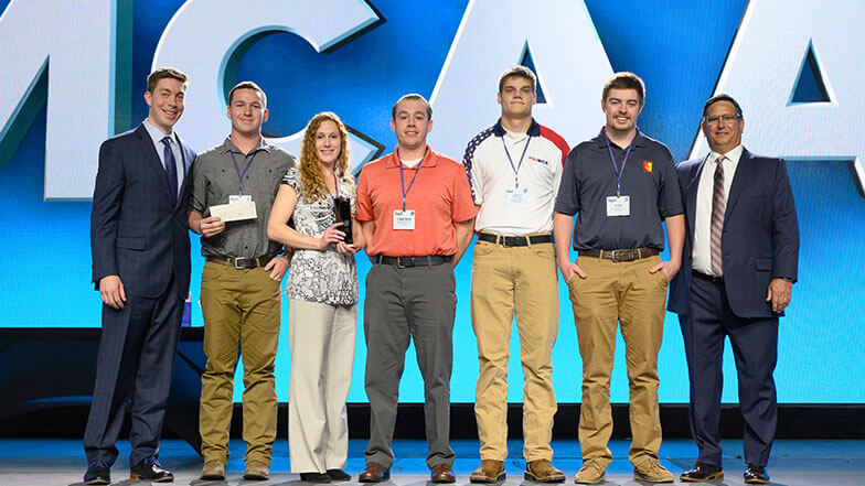 Pittsburg State Wins Student Chapter of the Year at MCAA19