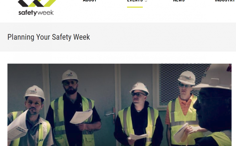 National Construction Safety Week Starts May 6. Want to Participate?