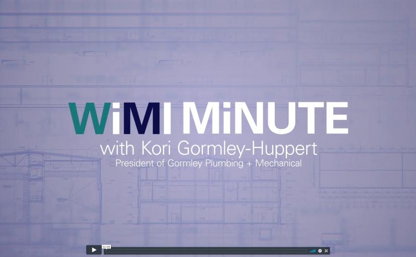 WiMI Minute – Meet the Women of WiMI: Kori Gormley-Huppert