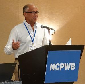 MCAA Senior Vice President/Treasurer Bob Bolton spoke at the NCPWB Technical Conference.