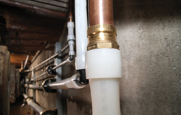 Uponor ProPEX Copper Press Adapter Installation