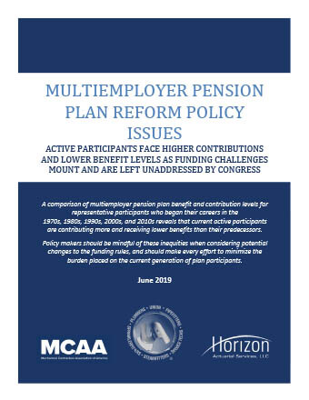 New Report Analyzes Impact of Lingering Pension Reform Impasse in Congress
