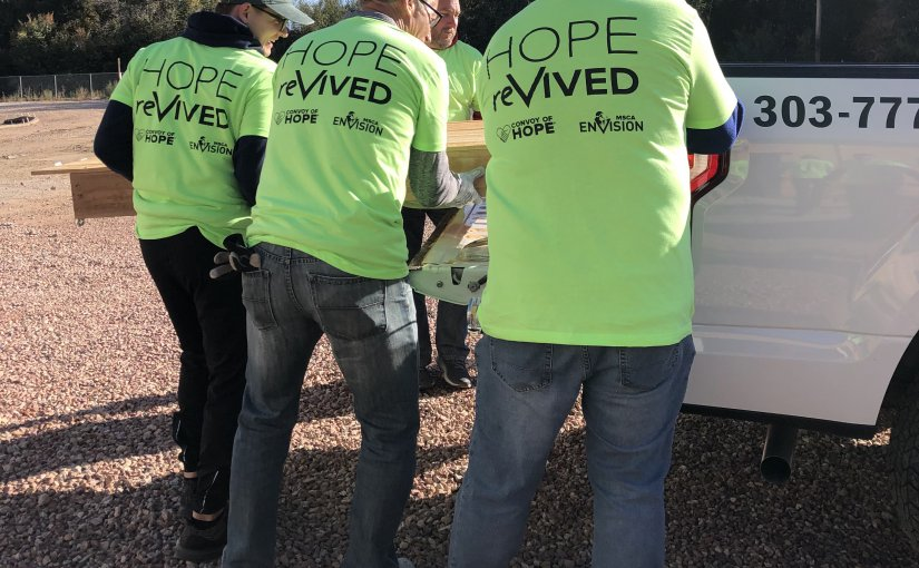 MSCA and Convoy of Hope Help reVIVE Springs Mission Rescue
