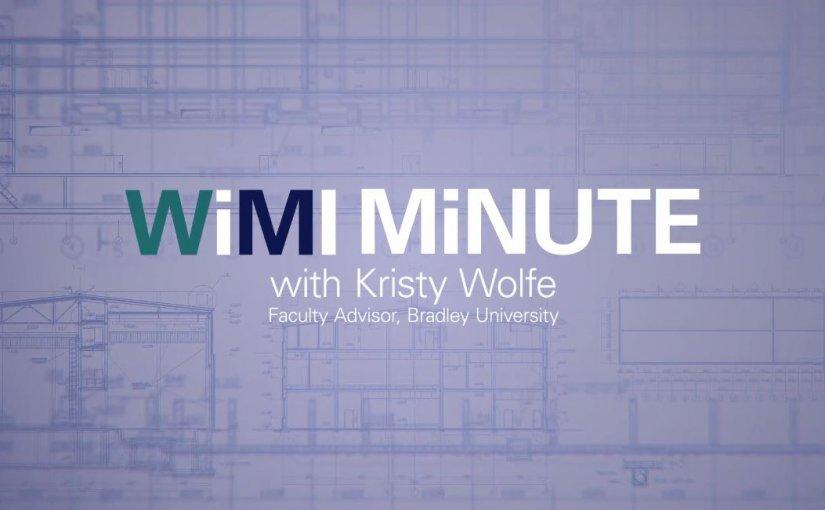 WiMI Minute – Meet the Women of WiMI: Kristy Wolfe
