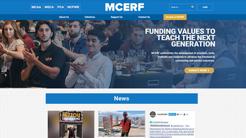 Have You Seen the New MCERF.org?