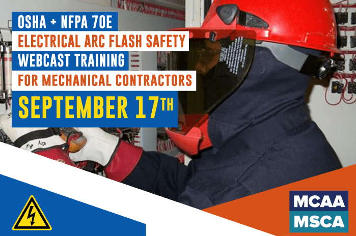 The Next Qualified Level Arc Flash Safety Training Webinars Scheduled for September 17, 2020